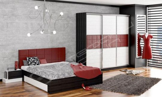 Спален комплект Космополитан 3
