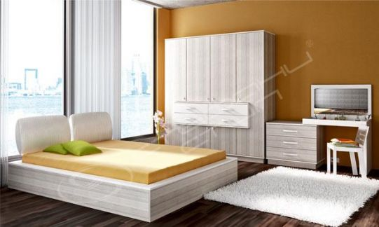Спален комплект Космополитан 21