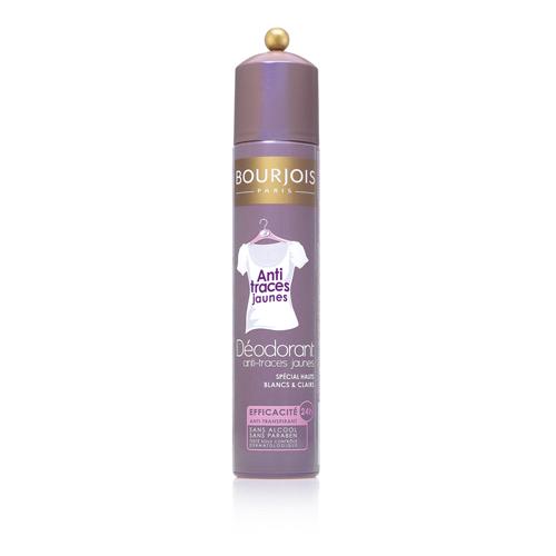 Bourjois ANTI-TRACES JAUNES спрей дезодорант 200ml