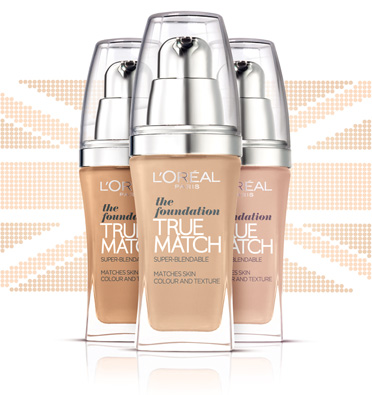 Loreal TRUE MATCH фон дьо тен