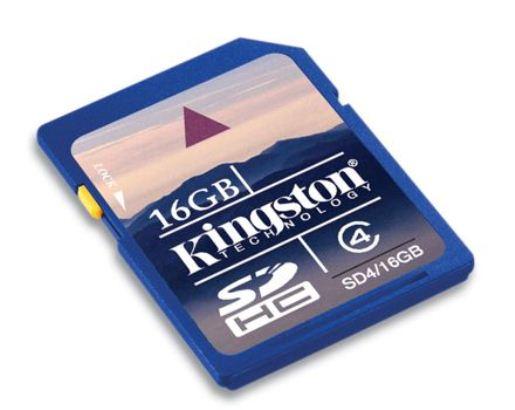 16GB SDHC KINGSTON CL4