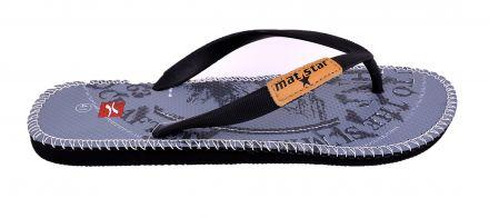 Mat Star-Мъжки джапанки Flip 14-83206 Black/Grey  41/46