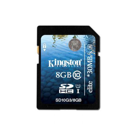 8GB SDHC KINGSTON CL10 G3