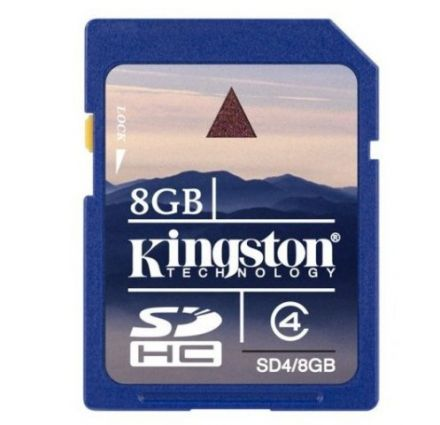 8GB SDHC KINGSTON CL4