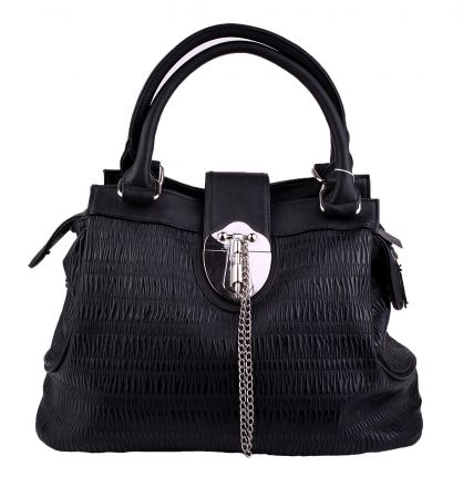 Дамска чанта МЕГИЯС 97423 черна