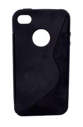 Калъф S-case iPhone 4 черен
