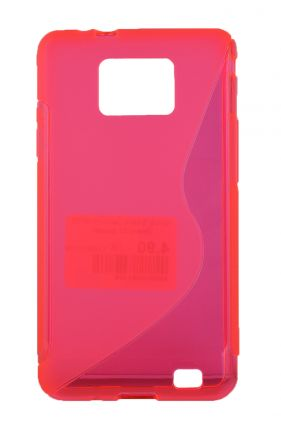 Калъф S-case Samsung i9100 Galaxy S2 /розов/