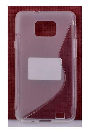 Калъф S-case Samsung i9100 Galaxy S2 /прозрачен/