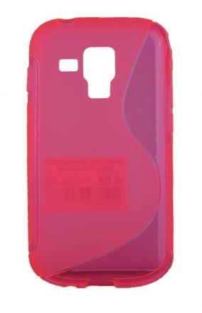 Калъф S-case Samsung S7562 Galaxy S Duos розов