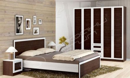 Спален комплект Космополитан 11