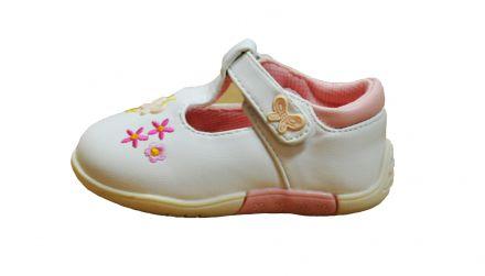 Мат Стар Детски обувки с цветенца 12-26122 White/Pink №24