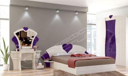 Спален комплект Космополитан 15