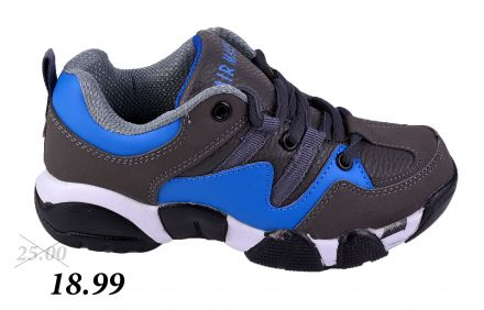 МАТ СТАР SORT 13-10822 Grey/ Blue 31-36