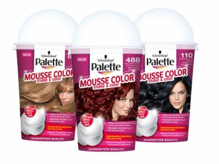 Palette MOUSEE COLOR боя за коса