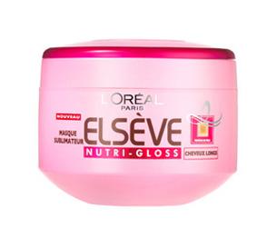 Loreal ELSEVE NUTRI-GLOSS LIGHT маска за коса за подхранване и блясък