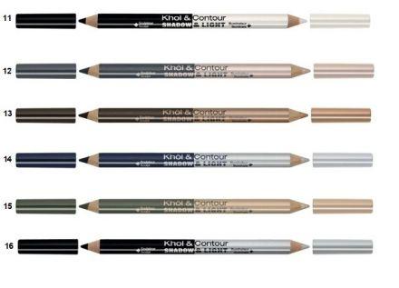 Bourjois SHADOW & LIGHT двоен молив за очи