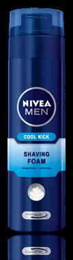 Nivea for Men Cool Kick пяна за бръснене 200ml