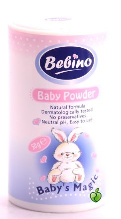 Bebino-Бебешка пудра розова-50g