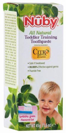 Nuby-Детска паста за зъби-45g