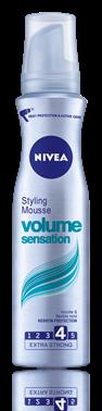 Nivea Volume Sensation пяна за коса за екстра силна фиксация 150ml