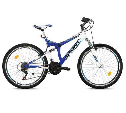 "Велосипед 26"" Sprint Element ECO V-BR White/Bl"