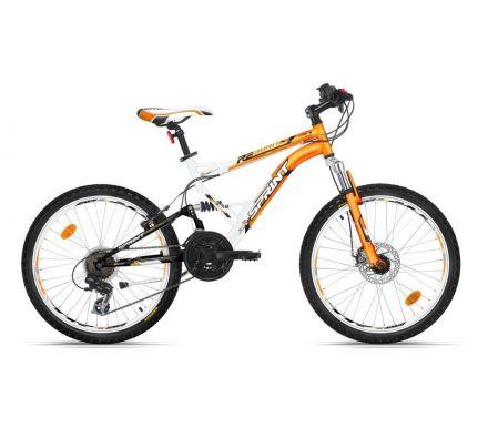 """Велосипед 24"""" Sprint Reborn Eco White/Mango"""