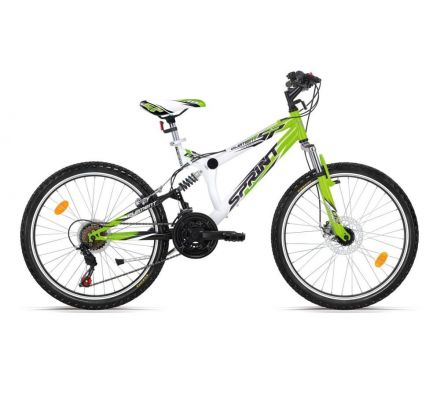 "Велосипед 24"" Sprint Element CH Whte/Green"