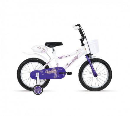 "Велосипед 16"" Sprint Ronny White,Fork,Violet"