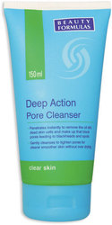 Beauty Formulas Deep Action дълбоко почистващ порите на лицето флуид 150ml