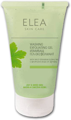 Elea Skin Care измиващ ексфолиращ гел за лице 150ml