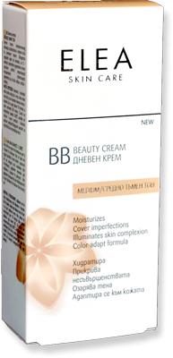 Elea Skin Care BB дневен крем / средно тъмен тон 40ml