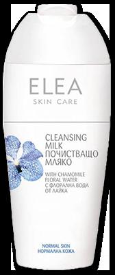 Elea Skin Care почистващо мляко за нормална кожа 200ml