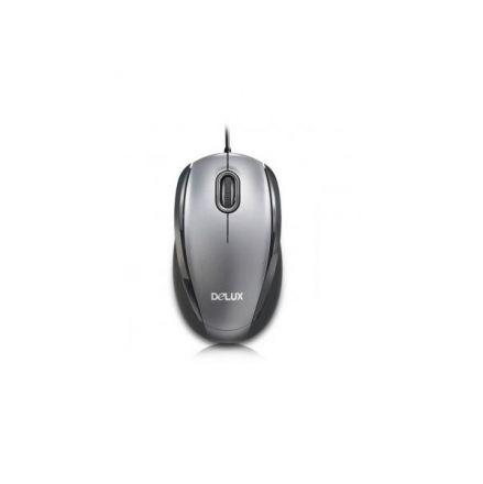 Мишка Delux DLM-126BU USB