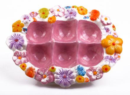 Великденска керамична поставка 6 яйца