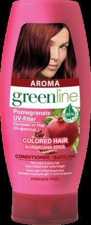 Aroma GreenLine балсам за боядисана коса с екстракт от нар 250ml
