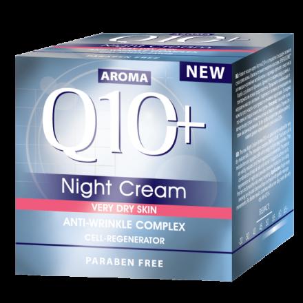 Aroma Face Q10 нощен крем за много суха кожа 50ml