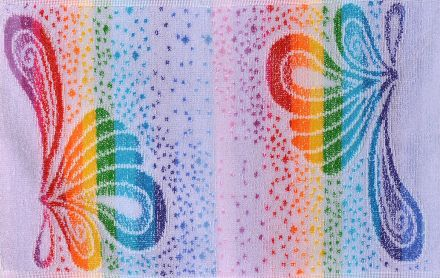 Хавлиена кърпа Корал светла орхидея