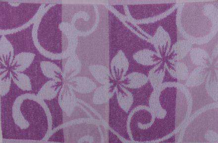 Хавлиена кърпа Корал Цветя лила