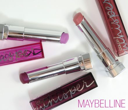 Maybelline COLOR SENTATIONAL WHISPER  червило