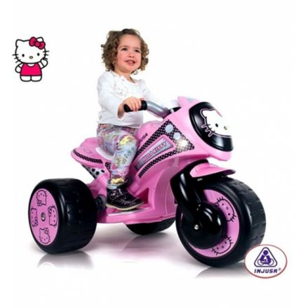Moni-Акумулаторен мотор Injusa Motortribike waves Hello Kitty 7294