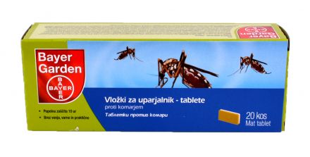 Bayer Garden таблетки п/в комари 20бр.