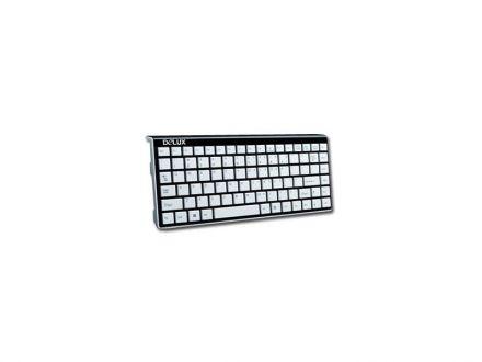 Клавиатура Delux DLK-1102U USB white