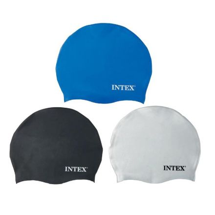 INTEX-ШАПКА ЗА ПЛУВАНЕ СИЛИКОНОВА