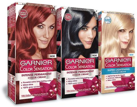 Garnier COLOR SENSATION боя за коса