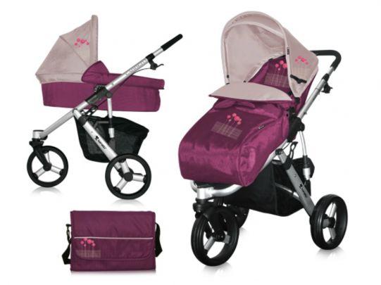 Lorelli Бебешка количка Carrera-4