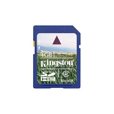 4GB SDHC KINGSTON CL4