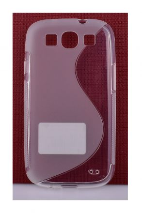 Калъф S-case Samsung i9300 Galaxy S3 /прозрачен/