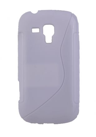 Калъф S-case Samsung S7562 Galaxy S Duos бял
