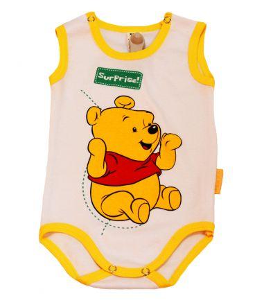 Бебешко боди рипс Хаос жълто