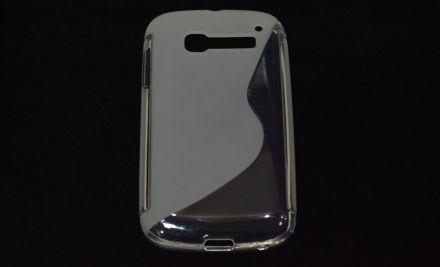 Калъф S-line Alcatel POP C5  OT-5036D бял